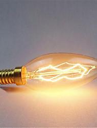 A0220-240v e14 c35 40W отделка ретро источник света 1шт
