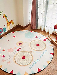 Casual Polyester Area Rugs(80*80cm)(Random Color)