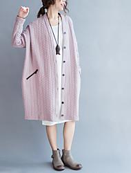 Материнства осенью 2016 новых корейских случайных свободных кардиган куртку и длинные разделы беременных женщин пальто моды