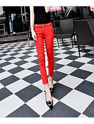 подписать 2016 лето новые корейские приливные значительно тонкие модели диких черный случайных брюки женские ноги девять очков