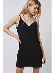 Europe and back cross strap dress