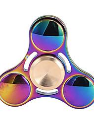 Handkreisel Handspinner Spielzeuge Tri-Spinner Metall Aluminium EDCStress und Angst Relief Büro Schreibtisch Spielzeug Lindert ADD, ADHD,