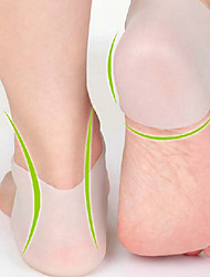1 Pair Delicate Silicone Moisturizing Gel Heel Socks Like Cracked Foot Skin Care Protector