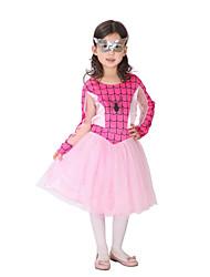 Children's Performing SuperHeroCostume for Kids Girls Fantasia Super Hero Coplay Children for Halloween Carnival Patry