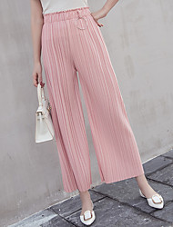 знак обжимной эластичный пояс широкие брюки ноги женщина колготки 2017 года новый корейский ярдов высокой талией прямые джинсы случайные