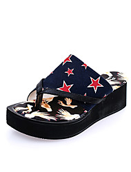 Women's Slippers & Flip-Flops Spring Comfort PU Casual Flat Heel