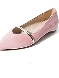 Women's Flats Winter Comfort PU Casual Flat Heel