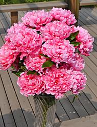 1 Филиал Пластик Пионы Букеты на стол Искусственные Цветы 70*16
