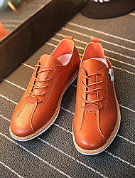 Men's Sneakers Spring Summer Fall Winter Ankle Strap PU Outdoor Casual Lace-up
