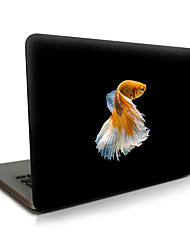 Para macbook air 11 13 / pro13 15 / pro com retina13 15 / macbook12 peixes descritos apple laptop caso