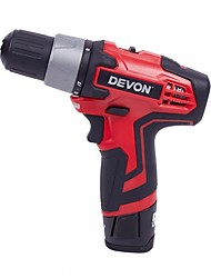 A large 12V Charge Drill 10MM Rechargeable Lithium Drill with Two Batteries 5262-Li-12TS