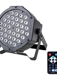 U'king® 72w 36pcs led-uri rgb etapa par iluminare stadiu luminos dmx512 sunet activ pentru dj ktv xmas etc 1pcs