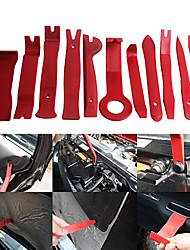 Ziqiao 11pcs / set carro auto painel de rádio porta clip painel guarnição remoção de áudio remoção instalador pry reparo conjunto de