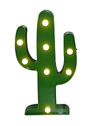 kaktusz led 3d éjszakai fény akkumulátor éjjeli sátor asztal asztali lámpa írni gyerekeknek ajándék