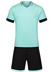 Men's Soccer Jersey + Shorts Breathable Spring Summer Classic Polyester Football/Soccer