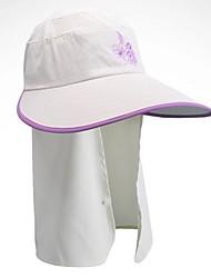 Unisexe Eté Chapeau Etanche Résistant aux ultraviolets Confortable Ecran Solaire Golf Couleur Pleine Sport
