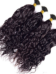 Bundle Hair Indian Texture Wavy 3 Months 4 Pieces hair weaves