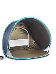 1 Pessoa Tenda Único Tenda Automática Um Quarto Barraca de acampamentoCampismo Viajar