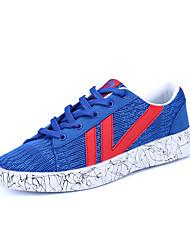 Unisex sneakers primavera verão casal sapatos tulle casual laço-up royal azul cinza preto branco