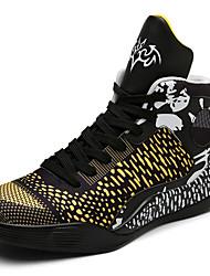 Unisex-Sneakers-Tempo libero Casual Sportivo-Comoda pattini delle coppie-Piatto-Microfibra-
