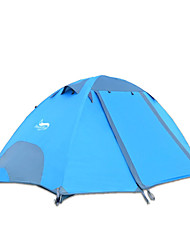 2 persons Tent Double Fold Tent One Room Camping Tent 2000-3000 mm Oxford Waterproof-Camping-