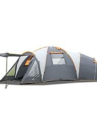 > 8 pessoas Duplo Três Quartos com Vestíbulo Barraca de acampamentoCampismo Viajar