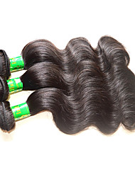 10A Raw Indian Virgin Hair Body Wave Mixed 3Bundles 300g Natural Indian Human Hair Material Color Black Dark Brown Last Long Time From Beautysister