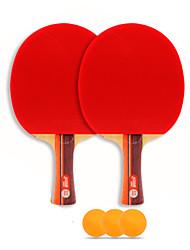 3 Estrellas Ping Pang/Tabla raquetas de tenis Ping Pang Madera Mango Largo Las espinillas