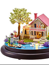 Dollhouse Leisure Hobby Circular Wood