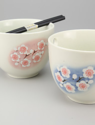 Japanese High Temperature Porcelain Chopstick Bowl Dinnerware
