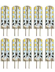Hkv® 10 pz g4 2w 24 smd 3014 100-200 lm bianco bianco freddo bianco freddo luci bicolore dc 12 v