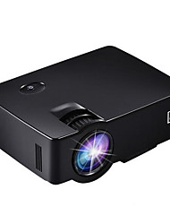 LCD WVGA (800x480) Projecteur,LED 1800 Portable HD Projecteur