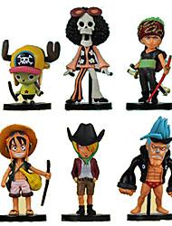 Figures Animé Action Inspiré par One Piece Roronoa Zoro PVC 8 CM Jouets modèle Jouets DIY