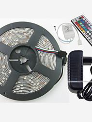 W Leuchtbänder RGB lm AC100-240 5 m 150 Leds Warmweiß Weiß Rot Gelb Blau Grün