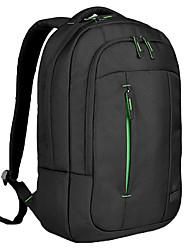 1680d bolso de escuela del hombre del paño grueso y suave 15 15.4 15.6 pulgadas del ordenador portátil mochila cubierta protectora de la