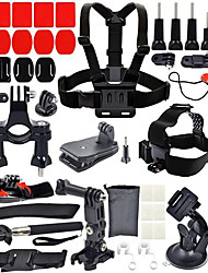 Sports Action Camera Chest Harness Front Mounting Anti-Fog Insert Tripod Clip Screw Hand Straps Mount / HolderMulti-function Foldable