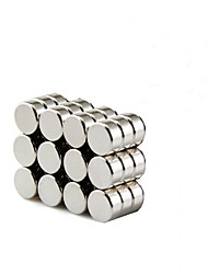 8x3mm Round Cylinder Magnets Deep DIY personalized Multi-Use for Fridge door Whiteboard Magnetic map Magnetic Screen Door Bulletin boards Refrigerator