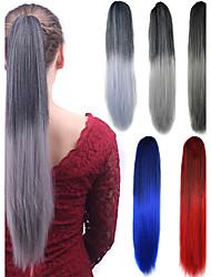 Longo rabo de ponytail feminino sintético barato cosplay festa extensão do cabelo