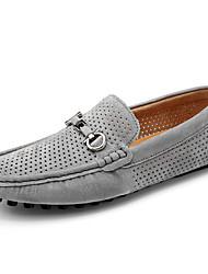 Для мужчин Мокасины и Свитер Удобная обувь Обувь для дайвинга Свиная кожа Лето Осень Повседневные Удобная обувь Обувь для дайвинга