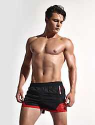 Aimpact Quick Dry Fashion Men's Board Shorts with Inside Mesh underwear Patchwork Beach Short Lining Liner Short SD02