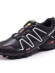 Da uomo scarpe da ginnastica Comoda Sintetico Primavera Autunno Casual Footing Comoda Più materiali Piatto Grigio Bianco/nero Royal Blue5