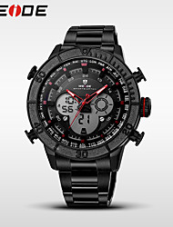 WEIDE Мужской Спортивные часы Модные часы Наручные часы электронные часы Кварцевый ЦифровойКалендарь Защита от влаги С двумя часовыми