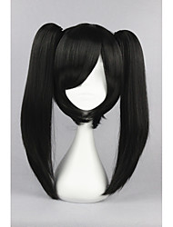 Kagerou progetto-attore anime nero 18inch cosplay ponytails parrucca cs-167d