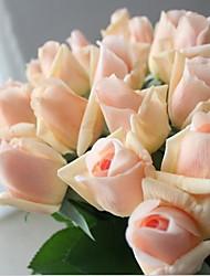 10 10 Филиал Шелк Розы Букеты на стол Искусственные Цветы