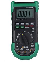 Mastech ms8268 multimètre numérique lcd gamme automatique porotection ac / dc condensateur testeur multimètre voltmètre fréquence