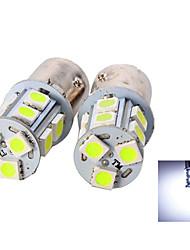 2pcs 1156 13 * 5050smd ha condotto la luce bianca della lampadina dell'automobile dc12v