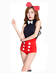 Cosplay Costumes Party Costume Masquerade Cosplay Bunny Girls Movie Cosplay Leotard/Onesie Headwear Halloween Carnival Female Polyester