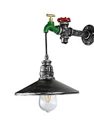 Qsgd ac220v-240v 4w e27 conduziu a luz conduzida luz da trave rústico / alojamento característica da pintura para o bulbo includedambient