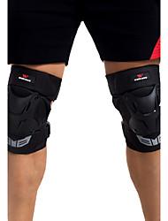 Unisex Knee Brace for Skiing Skating Cross-Country Motorcycle Skateboarding Shock Proof Wearproof 1 Pair Sports Outdoor PE