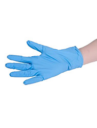 Emas одноразовые перчатки медицинского осмотра без порошка большой / 1 коробка